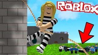 I GOT CAUGHT ESCAPING FROM PRISON! | Roblox Roleplay Prison Escape Obby