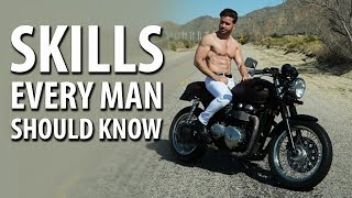 6 SKILLS EVERY MAN SHOULD KNOW | Things Every Guy Should Know | ALEX COSTA