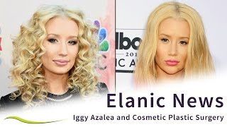 Iggy Azalea Before & After Cosmetic Plastic Surgery