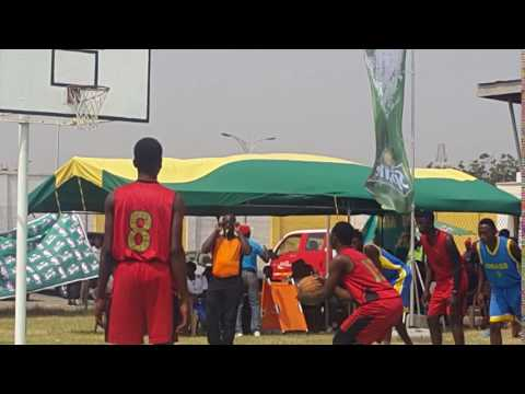Aboagye on the free throw-Sprite Ball Ghana 2016