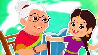 Super Nani | Hindi Nursery Rhyme | सुपर नानी | Hindi Rhymes For Kids | Bachon Ke Geet | Hindi Poems