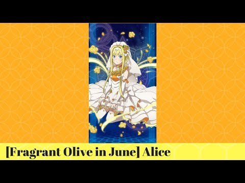 [SAO: Memory Defrag] [Fragrant Olive in June] Alice