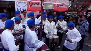 Penampilan Musik Yanger - Tobelo, Halmahera Utara. Kegiatan Apel Siaga Pilgub Maluku Utara 2018