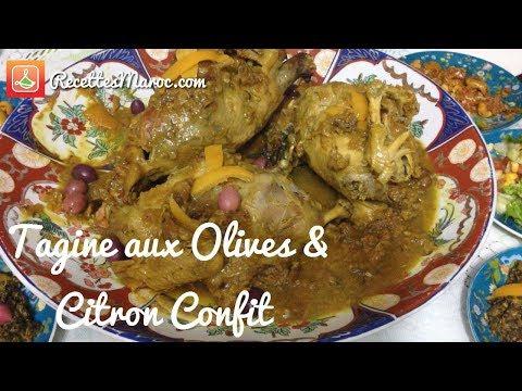 recette-tagine-poulet-beldi-aux-olives-&-citron-confit