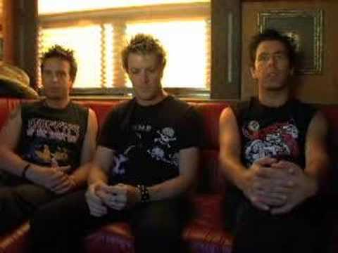The Living end Interview Part 1 for NewBandTV.com