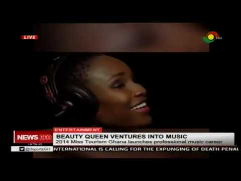 2014 Miss Tourism Ghana launches professional music career