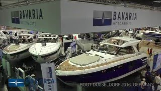 BAVARIA MOTOR BOATS at boot 2016