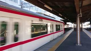 恐っ!名鉄1700系1704F快特豊橋行き 国府駅を高速通過!