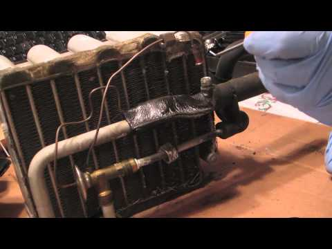 A C Evaporator Heating Amp Valve Seal Sponge Replacement