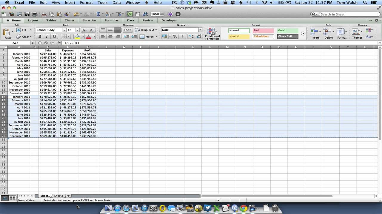 create macros in excel for mac 2008