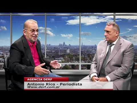 Antonio Rico: La Justicia en la Argentina es una porquería