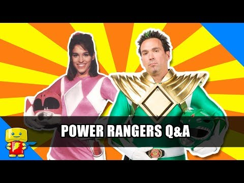 Power Rangers Q&A with Jason David Frank and Amy Jo Johnson