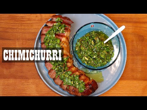 How to make Chimichurri   Argentinian Recipe
