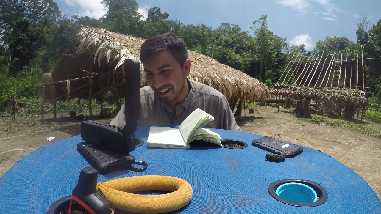 2018 Live Q&A from Yanomami village to the world via satellite phone