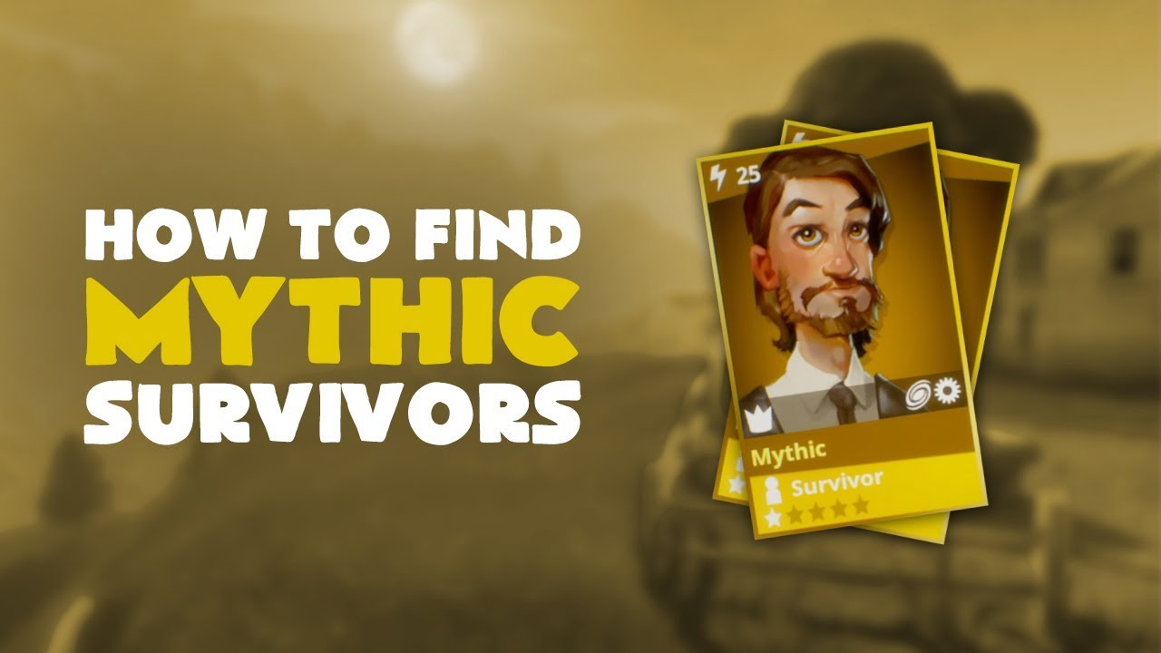 how to find mythic survivors fortnite save the world - fortnite how to get mythic survivors