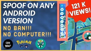 Spoof in Pokemon Go easily in any android phone(October 2019) | Spoof in Pokemon go Without computer
