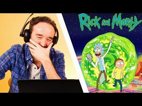 Irish People Watch Rick And Morty