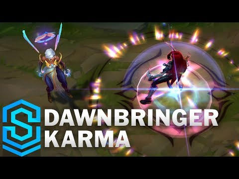 Dawnbringer Karma Skin Spotlight - League of Legends