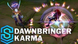 Dawnbringer Karma Skin Spotlight - League of Legends