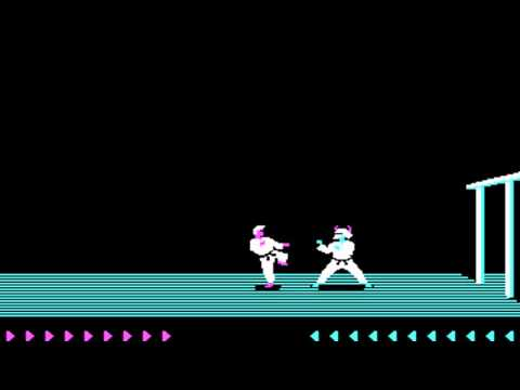 Karateka (Jordan Mechner, The Connelley Group) (MS-DOS) [1986]