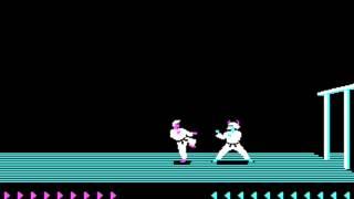 Karateka (Jordan Mechner, The Connelley Group) (MS-DOS) [1986]