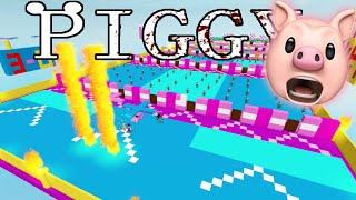 ROBLOX PIGGY FALL GUYS..