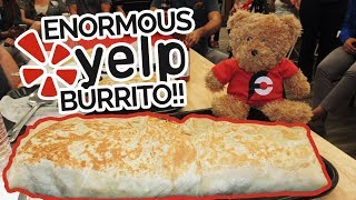 Carne Asada Burrito Challenge vs Yelp Elite San Diego!!