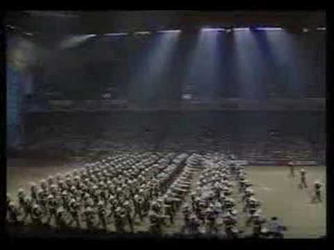 Royal Tournament 1990 - Massed Bands of the Royal Marines