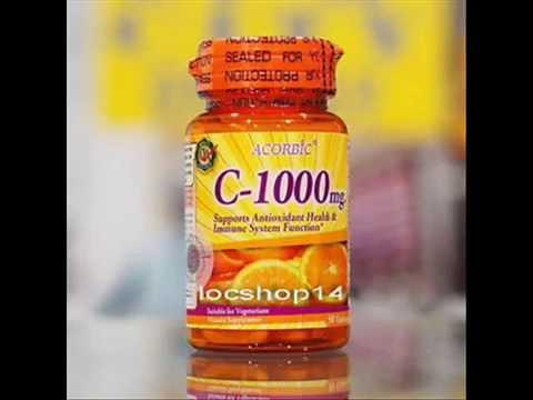 Vitamin C With Citrus Bioflavonoi Rose Hips 1000 Mg Acorbic 30