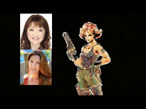 Video Game Voice Comparison Meryl Silverburgh Metal Gear Solid