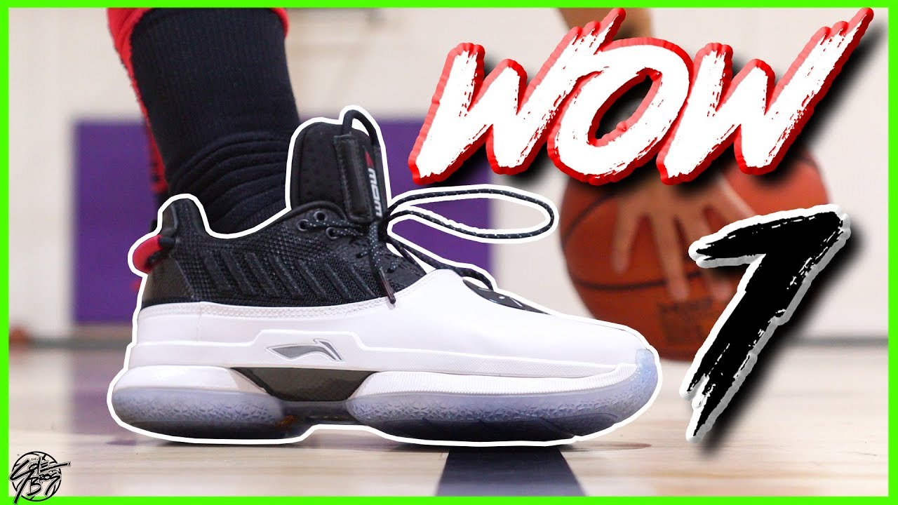 62a3202446ad Li-Ning Way of Wade WOW 7 Performance Review! - YouTube