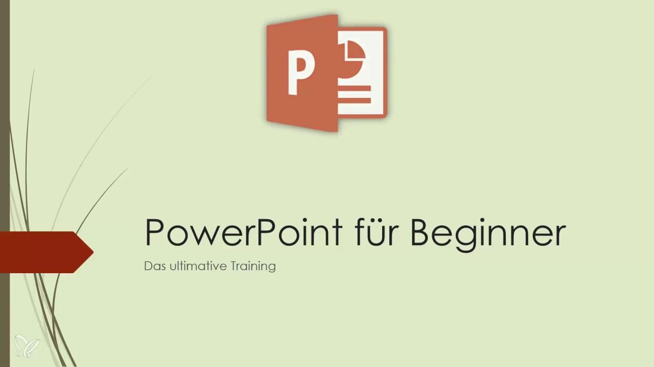 PowerPoint Tutorial: Animationen richtig nutzen - YouTube