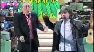 Enzo Jannacci e Paolo Rossi   I soliti accordi   Sanremo 1994