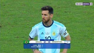 كلاسيكو  البرزيل و الأرجنتين 2-0 نصف نهائي كوبا امريكا 2019 ▪️ عصام الشوالي🎤