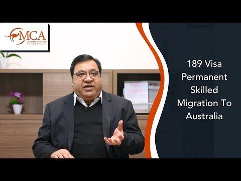 189 Visa – Permanent Skilled Migration To Australia