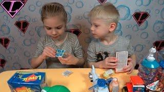 Обзор Жуткие конфеты Сладости из Европы Sweets from EUROPE 2017 Еда VS мармелад
