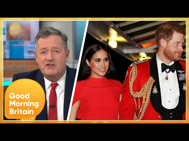 \'Ginge and Cringe!\' Piers Erupts at Prince Harry and Meghan Markle\'s Podcast   Good Morning Britain