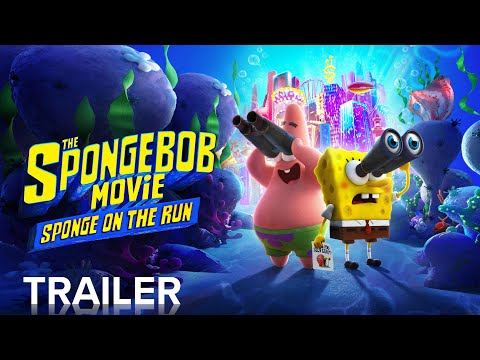 THE SPONGEBOB MOVIE: SPONGE ON THE RUN | Official Trailer | Paramount Pictures
