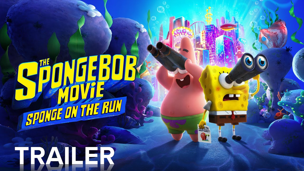 Download THE SPONGEBOB MOVIE: SPONGE ON THE RUN | Official Trailer | Paramount Pictures