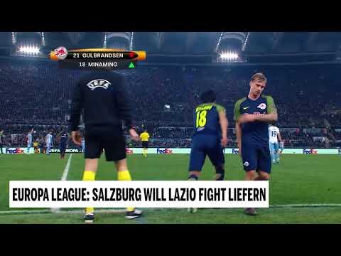 Europa League: Salzburg will Lazio Kampf liefern