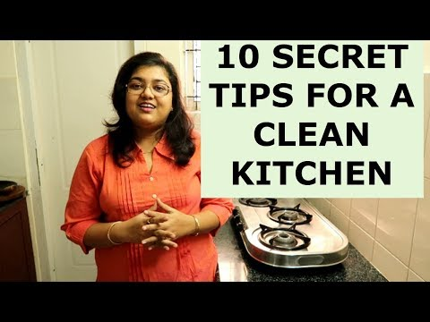 10 Secrets For Keeping Kitchen Always Clean And Organized || Kitchen Cleaning Tips & Tricks in Hindi