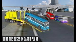 Bus Transporter Truck Flight - Android Gameplay - Free Car Games To Play Now