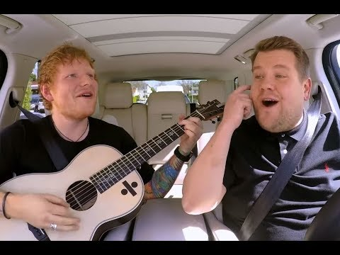 Ed Sheeran does Carpool Karaoke, pities self