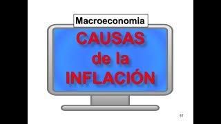 Causas de la Inflacion