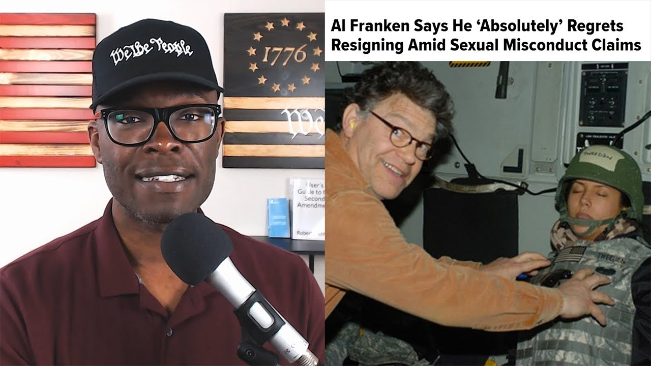 ABL Al Franken REGRETS Resigning From Senate. TOO LATE NOW!