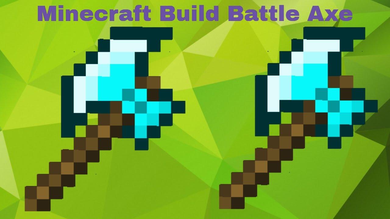 Minecraft Battle Axe