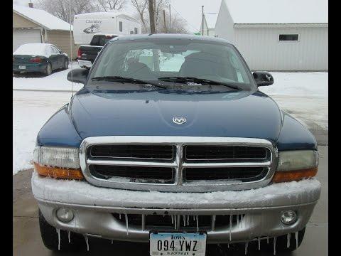 2003 Dodge Dakota SLT Full Review and Startup