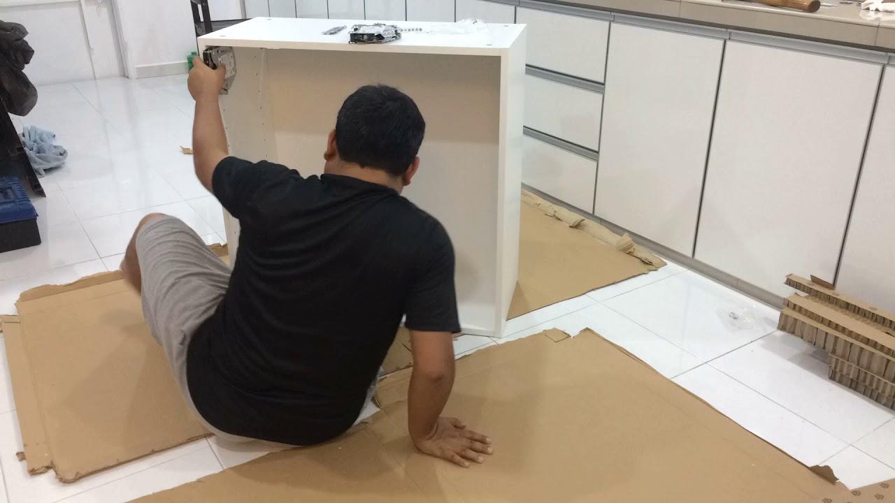 DIY IKEA METOD Wall Cabinet Frame (Malaysia)