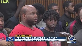 Arrested Brelo verdict protesters appear in court on Memorial Day