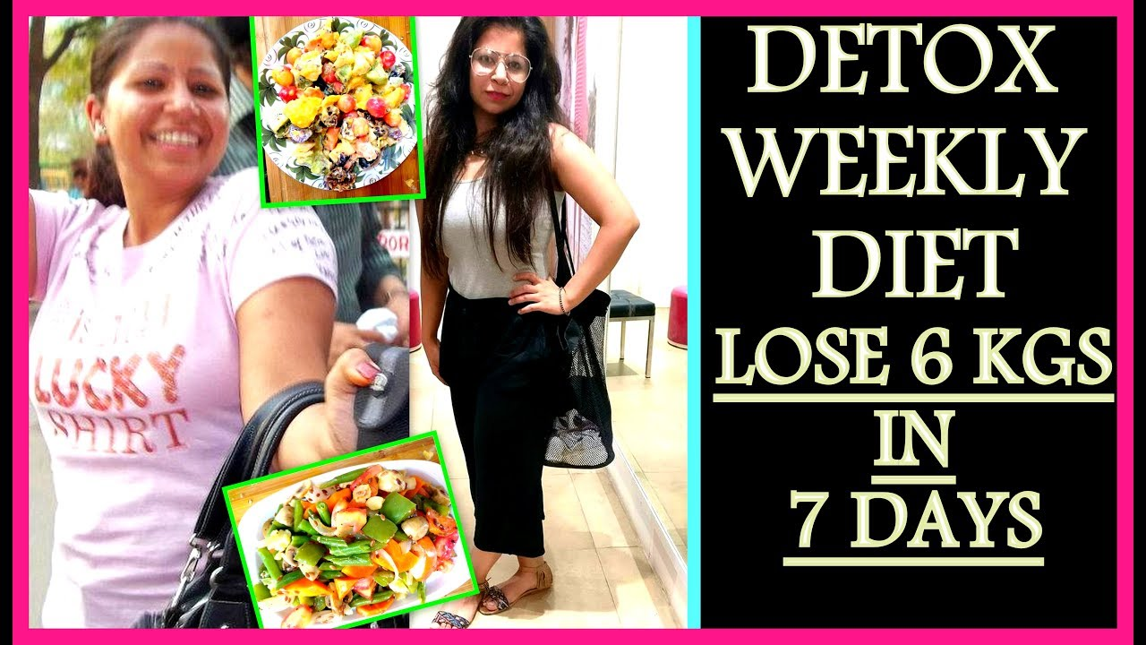 How To Lose Weight 1KG in 1 Day | 7 Days Detox Diet Plan | Weight Loss  Salad Recipe | Fat to Fab